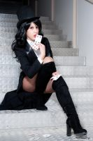 Mistress of Magic - Zatanna cosplay - batman by GhiandaiaCosplay