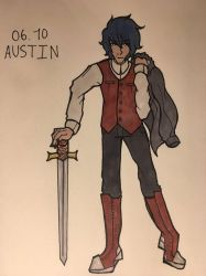 austin (OC-tober day 6) by DawnRedd