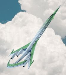 Supersonic Green Plane 02 by Shelest