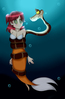 [Commission]Beautiful Fish by BillCiphersPuppet