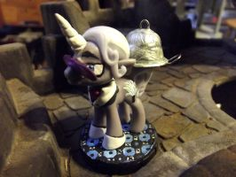 Sebastian, Unicorn Combat Butler (MLP Blind Bag) by JordanGreywolf