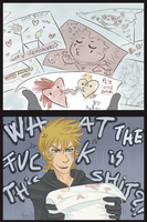 358/2 flyers for Roxas [akuroku Day] by VanyCat