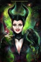 Maleficent by manulys