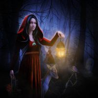 Red Riding Hood by TaniaART