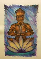 I Ohm Groot by Arranell