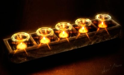 Candle by Levi-Thano