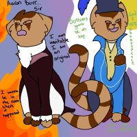 Aaron Burr, si- GOD I HATE SHAKESPEARE by Skystar40