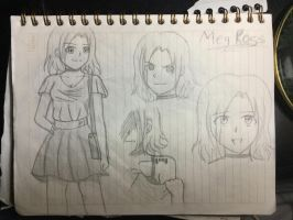 Meg Ross OC by PerfectDuwang