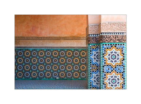Ben Youssef Madrasa by cb100