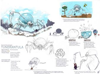 Terraria Boss - Tundrantula. by Endling