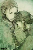 Anders x Hawke by Nazgullow
