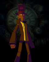 Professor Layton and the RISE OF THE AUTOMATONS by Genaleah