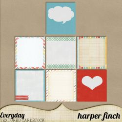 Everyday Journal Cards by harperfinch
