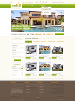 RealStar Property Managers Web Layout by SyloGraphix