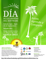 Software Freedom Day poster by mariocesar