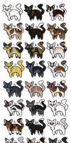 Open cat adopts~ [35 pts each] by BumbleBayz