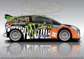 Rally Monster by ArmageddonDesigns