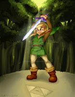 A Link Between Worlds by midnazora
