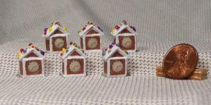 ~*~ The 2015 Mini Gingerbread House Series. ~*~ by Kyle-Lefort
