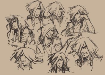 Facial Expressions - Jerod by AdoraLynn