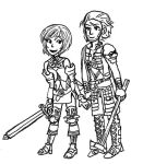 Ashe + Basch by sweet-suzume