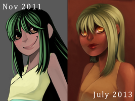Redraw Meme - 18 months by daughter-thursday