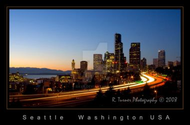 Seattle Skyline 2 by rayt