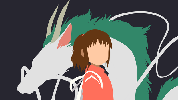 Spirited Away Minimalist by FIDELx