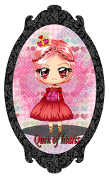Derpy Design- Queen of Hearts by StrawberryCakeBunny