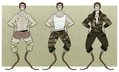 BILL NEWMAN ~ Reference Sheet by Plyesdayk