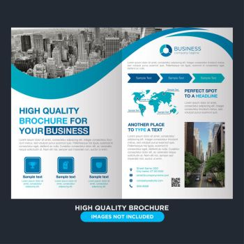 Modern and professional brochure for business by coddih