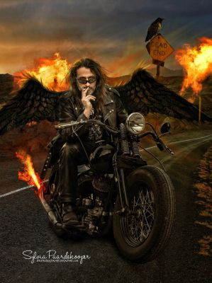 Highway to hell by SPRSPRsDigitalArt