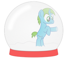 Trapped in a Snow Globe by Sny-por