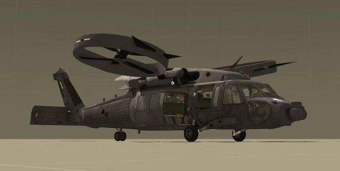 UH-92 Raven PMC WIP by EricJ562