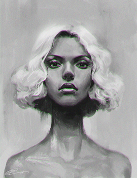 Portrait Doodle by Roggles