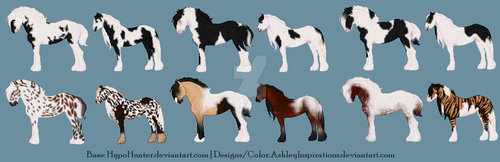 Equine Adopts Auction OPEN (2/12) by AshleyInspirations