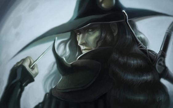 Vlad as Vampire Hunter D by MirageMari