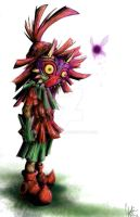 The Skull Kid by MinaGirl17