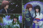 Kenshin and Tomoe: 'Til Death Do Us Part by behindinfinity