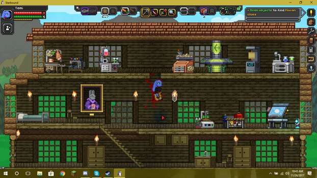 My Starbound House, now with mods! by Rune-Plushheart
