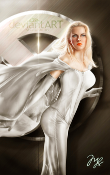 Emma Frost From X Men By Mlauneim-d5iqyhx Dhm9 by cacarod2007