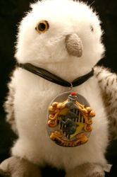 Hufflepuff Pendant by EarthBerry
