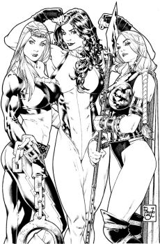 Others 3 Marvel s girls by PauloSiqueira