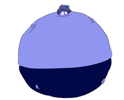 Tsutomu-kun Blueberry Inflation by ChubbyBunny98