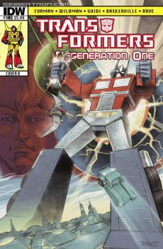 TF Regeneration One 100 final issue Cover B