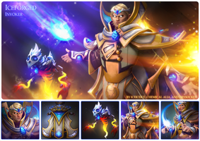 Iceforged - Invoker set for Iceiceice by ChemicalAlia