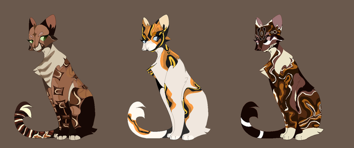 boa ladies | cat auction adoptables || open 2/3 by AMARYLLIES