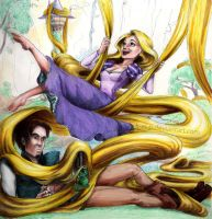 Disney's Tangled by K-EL-P