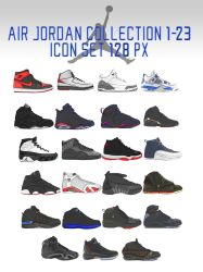 BBoyKai91 11 2 Air Jordan Collection 1-23 Icon Set by trentsxwife 892b79156