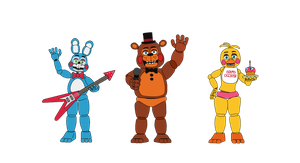 Band - Five Nights at Freddy's 2 by J04C0